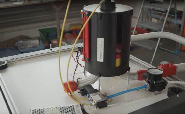 Drukowany respirator