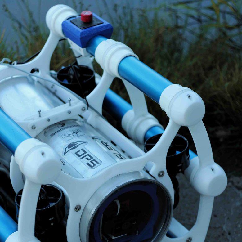 Świat według autonomicznego robota podwodnego